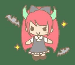 """Girl devil children""""sa-tan"""". sticker #1204525"""