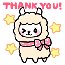 Fluffy Alpaca sticker #1204871