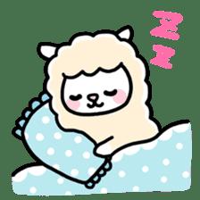 Fluffy Alpaca sticker #1204872
