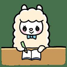 Fluffy Alpaca sticker #1204879