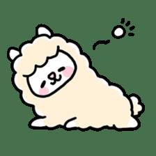 Fluffy Alpaca sticker #1204881