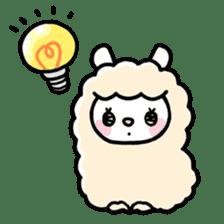 Fluffy Alpaca sticker #1204883