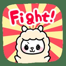 Fluffy Alpaca sticker #1204888