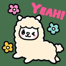 Fluffy Alpaca sticker #1204903