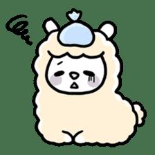 Fluffy Alpaca sticker #1204904