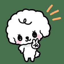 Afro puppy sticker #1204911