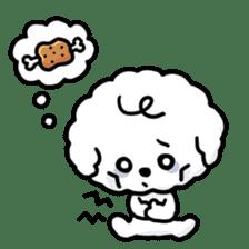 Afro puppy sticker #1204913