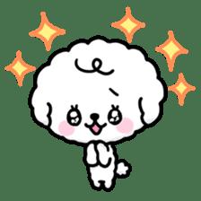 Afro puppy sticker #1204925