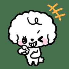 Afro puppy sticker #1204929