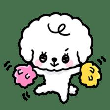 Afro puppy sticker #1204930