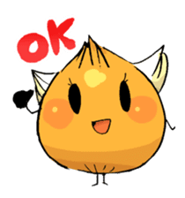 onion girl TAMANE sticker #1205346