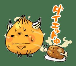 onion girl TAMANE sticker #1205356