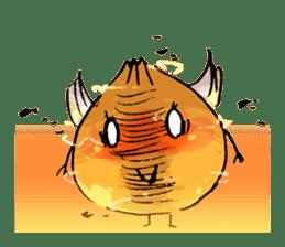 onion girl TAMANE sticker #1205384