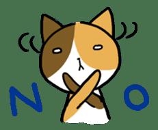 Calico cat sticker #1206229