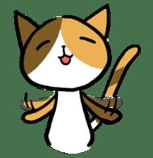 Calico cat sticker #1206239