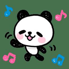 Kawaii Panda sticker #1206626