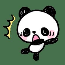 Kawaii Panda sticker #1206627