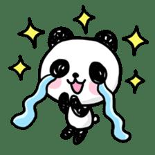 Kawaii Panda sticker #1206628