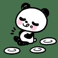 Kawaii Panda sticker #1206631