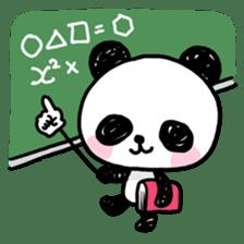 Kawaii Panda sticker #1206632