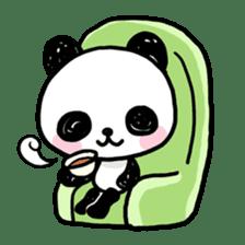 Kawaii Panda sticker #1206634