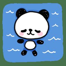 Kawaii Panda sticker #1206636