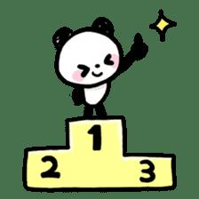 Kawaii Panda sticker #1206639
