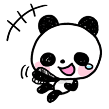 Kawaii Panda sticker #1206644
