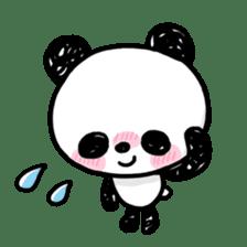 Kawaii Panda sticker #1206651