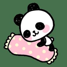 Kawaii Panda sticker #1206653