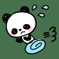 Kawaii Panda sticker #1206655