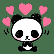 Kawaii Panda sticker #1206656
