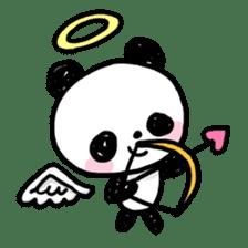 Kawaii Panda sticker #1206658