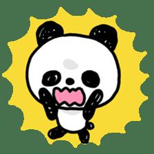 Kawaii Panda sticker #1206659