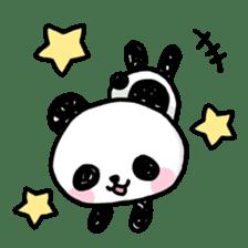Kawaii Panda sticker #1206661