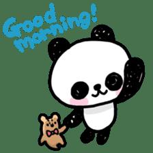 Kawaii Panda sticker #1206662
