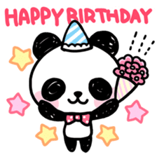 Kawaii Panda sticker #1206665