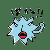 Blue-Virus sticker #1207292