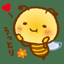 Honey Bee [makky] sticker #1207347