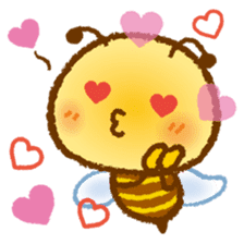 Honey Bee [makky] sticker #1207348