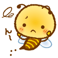 Honey Bee [makky] sticker #1207357