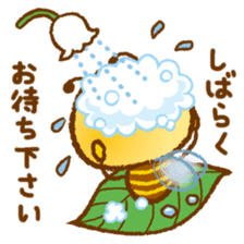 Honey Bee [makky] sticker #1207369
