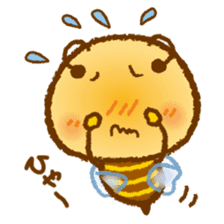 Honey Bee [makky] sticker #1207375