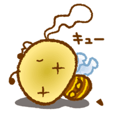 Honey Bee [makky] sticker #1207376