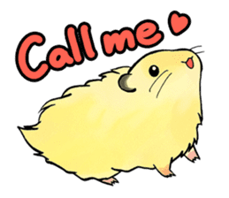 Assorted Hamsters sticker #1208706