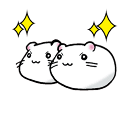Assorted Hamsters sticker #1208711