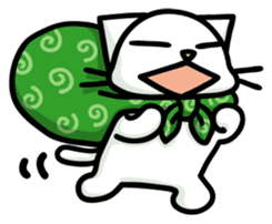Cheeky cat sticker #1211002