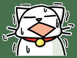 Cheeky cat sticker #1211012