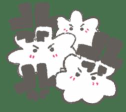 Cute-Ghosts sticker #1211531