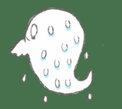 Cute-Ghosts sticker #1211536